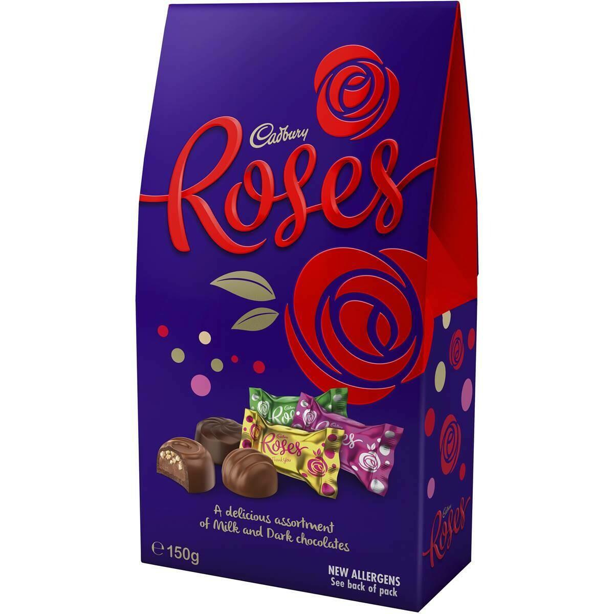 Cadbury Roses Chocolates 150g Bag