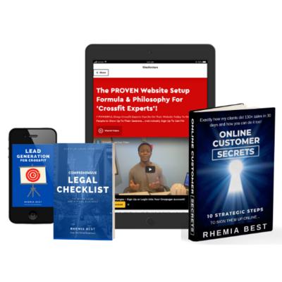 Online Customer Secrets Gym bundle