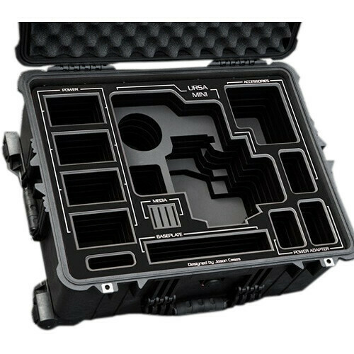 Jason Cases Hard Case with Custom Foam for Blackmagic Design URSA Mini