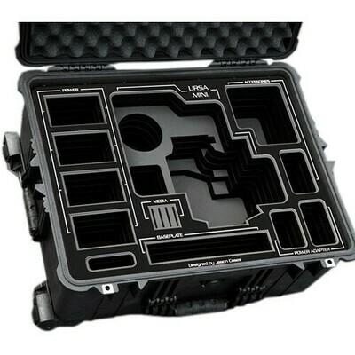 Jason Cases Hard Case with Custom Foam for Blackmagic Design URSA Mini