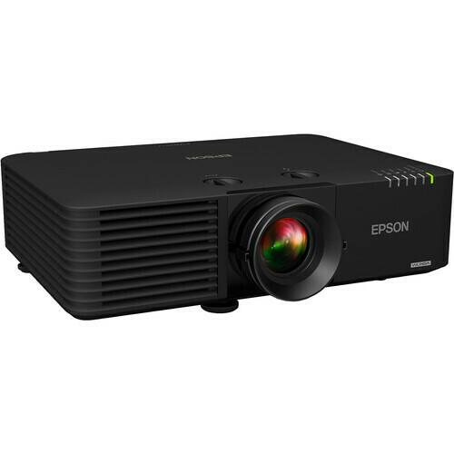 Epson PowerLite L615U 6000-Lumen WUXGA 3LCD Laser Projector (Black)