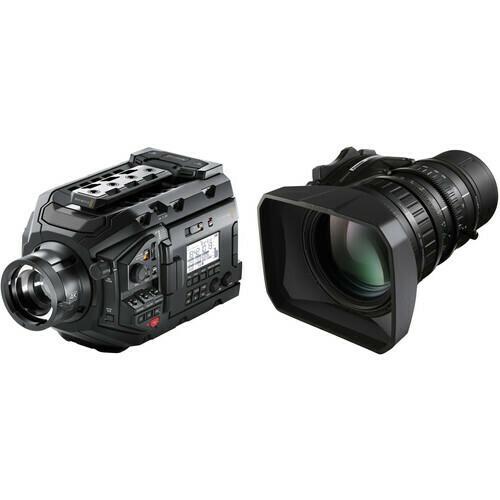 "Blackmagic Design URSA Broadcast Camera Kit with Fujinon 2/3"" Mount LA16x8BRM-XB1A Lens"