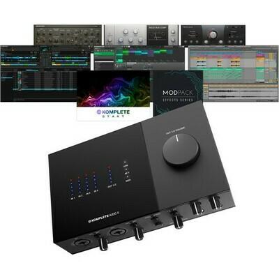 Native Instruments KOMPLETE AUDIO 6 Mk2 6-Channel USB Audio Interface