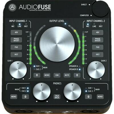 Arturia AudioFuse Rev2 - 14x14 Audio Interface (Black)