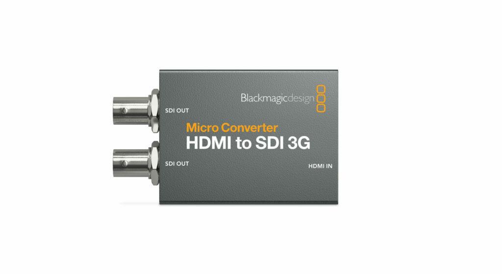 Blackmagic Design Micro Converter HDMI to SDI 3G con fuente de alimentación