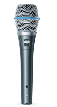 BETA 87A Vocal Microphone