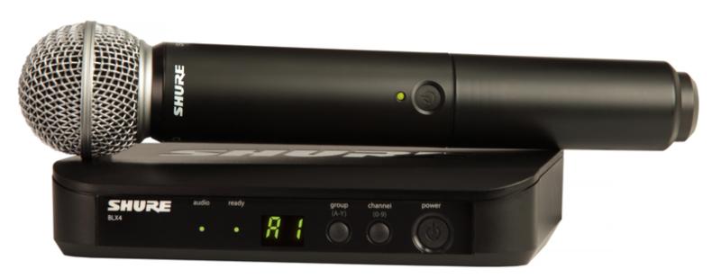 BLX24/SM58 Handheld Wireless System