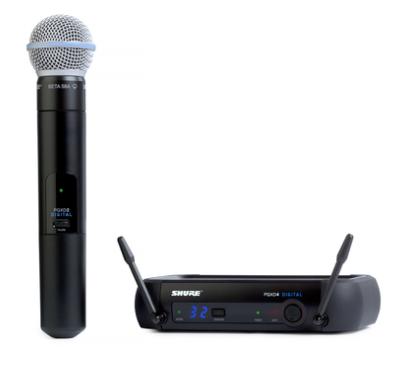 PGXD24/BETA58A Handheld Wireless System