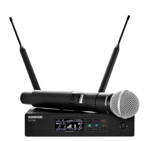 QLXD24/SM58 Handheld Wireless Microphone System