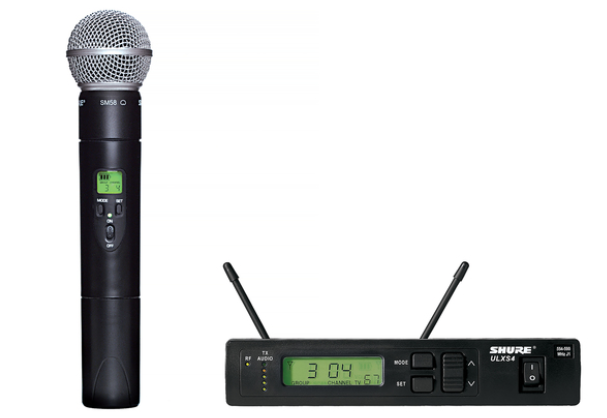 ULXS24/58 Handheld Wireless System