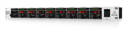 POWERPLAY HA8000 8-Channel High-Power Headphones Mixing and Distribution Amplifier