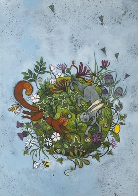 The Wild Way - Print from 'The Garden Awakening'