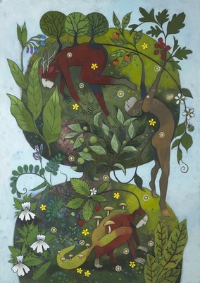 Flora & Fauna - Print from 'The Garden Awakening'