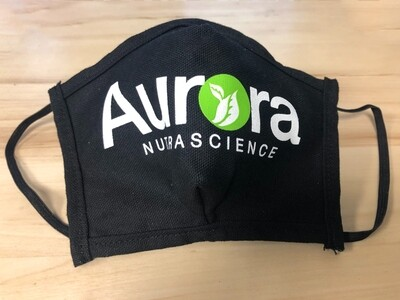 Aurora Nutrascience Canvas Face Mask