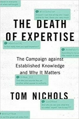 The Death of Expertise | 6 CE
