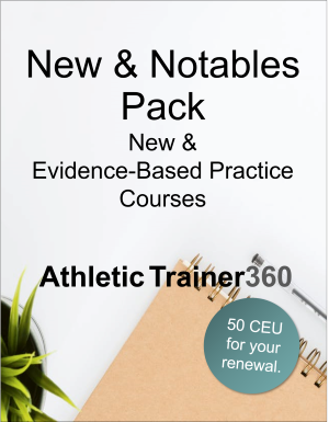 New & Notables Pack | 50 CEU