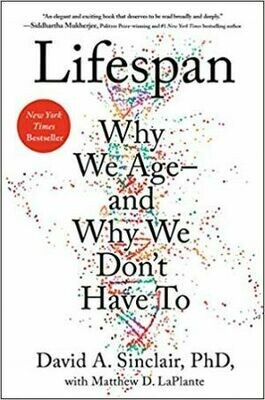 Lifespan: Why We Age―and Why We Don't Have To | 5 CEU