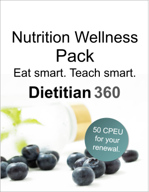 Nutrition Wellness Pack | 50 CPEU