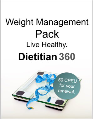 Weight Management Pack | 50 CPEU