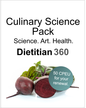 Culinary Science Pack | 50 CPEU