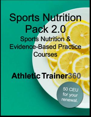 Sports Nutrition Pack 2.0 | 50 CEU