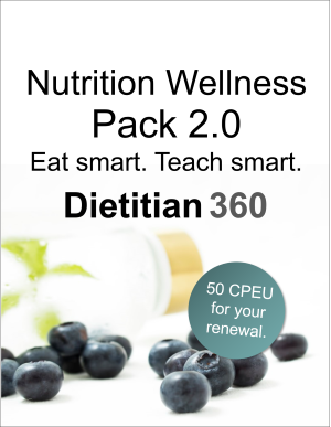 Nutrition Wellness Pack 2.0 | 50 CPEU