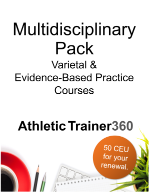 Multidisciplinary Pack | 50 CEU