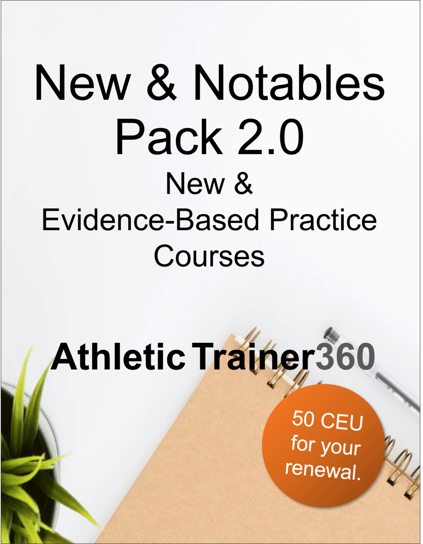 New & Notables Pack 2.0 | 50 CEU