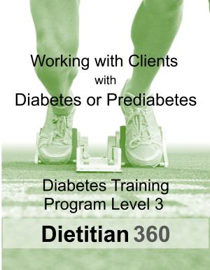 Diabetes Training Program Level 3 | 10 CPEU