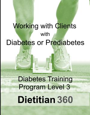 Diabetes Training Program Level 3   10 CPEU