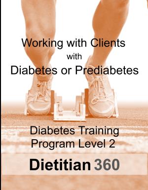 Diabetes Training Program Level 2   10 CPEU