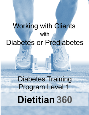 Diabetes Training Program Level 1 | 10 CPEU