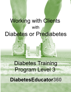 Diabetes Training Program Level 3 | 10 CEU