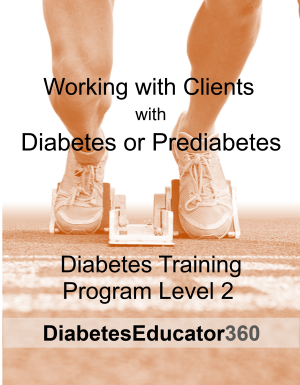 Diabetes Training Program Level 2 | 10 CEU