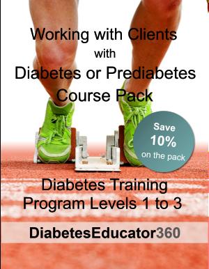 Diabetes Training Program Pack | 30 CEU