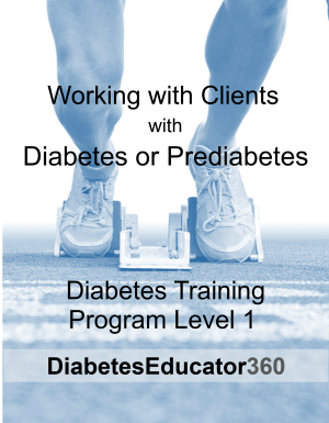 Diabetes Training Program Level 1 | 10 CEU