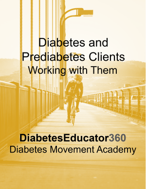 Diabetes and Prediabetes Clients: Working with Them (Video) | 1 CEU