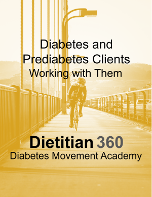 Diabetes and Prediabetes Clients: Working with Them (Video) | 1 CPEU