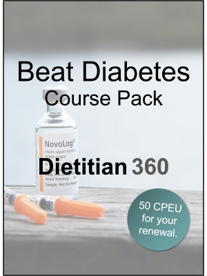 Beat Diabetes Course Pack | 50 CPEU