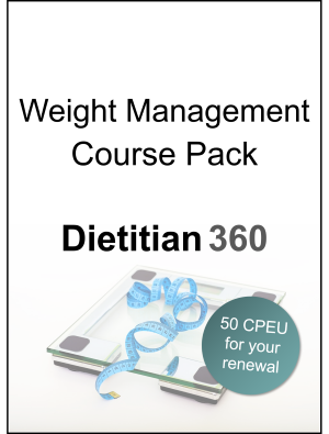 Weight Management Course Pack | 50 CPEU