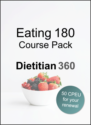 Eating 180 Course Pack | 50 CPEU