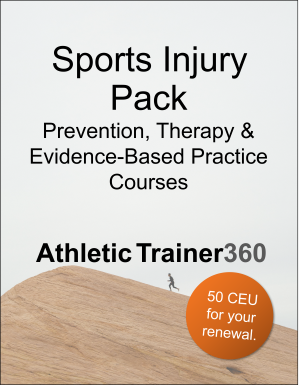 Sports Injury | 50 CEU
