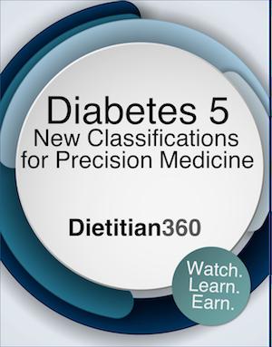 Diabetes 5. New Classifications for Precision Medicine (Video)   1 CPEU