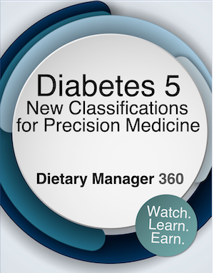Diabetes 5. New Classifications for Precision Medicine (Video) | 1 CE