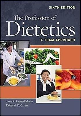 The Profession of Dietetics | 10 CPEU