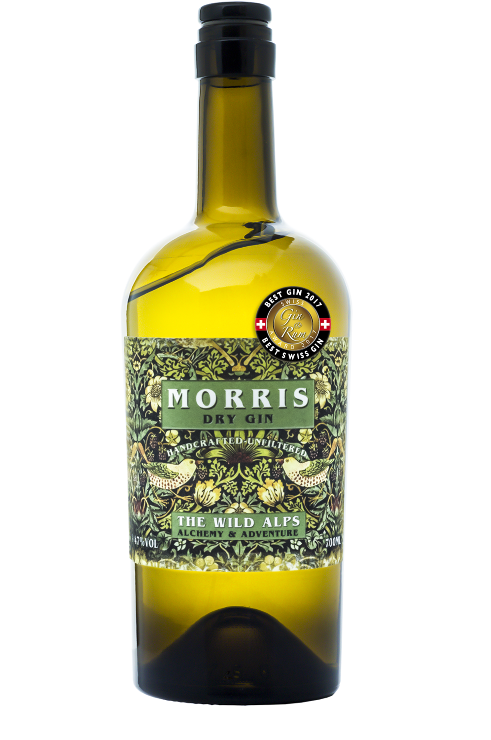 WILLIAM MORRIS® - 700 ML 47% vol - London Dry Gin