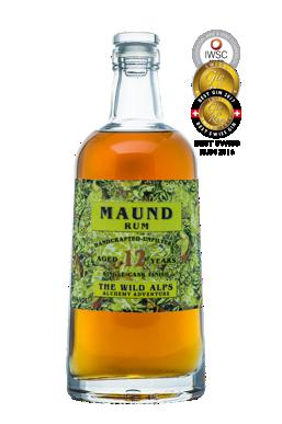 MAUND® RUM 12 YEARS+     500 ML - 45% vol
