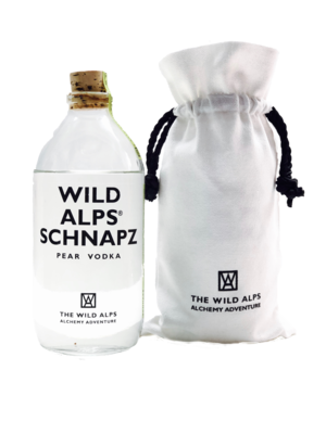 WILD ALPS® SCHNAPZ|in Canvas Sachet|500 ML, 40% vol