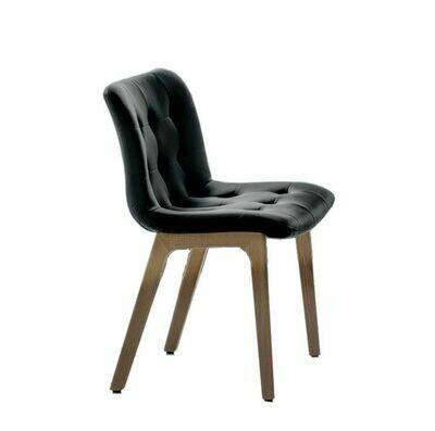 Bontempi KUGA |sedia| struttura legno