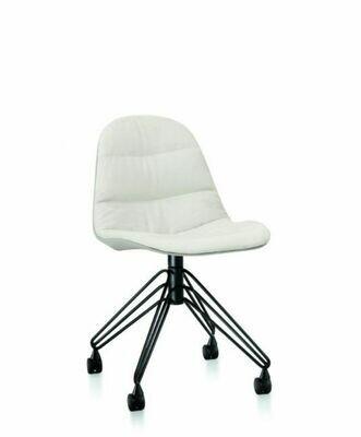 Bontempi MOOD |sedia| girevole acciaio
